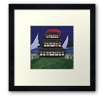 Temple Zen Framed Print