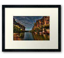 Windjana Gorge - Kimberley WA Framed Print