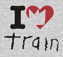 Train - I Love Train - Crown Heart by ILoveTrain