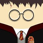 iPhone case - Cute Kawaii harry Potter Face - Apple iPhone case by beecase