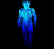 Cyberman - Electric Blue by Marjuned