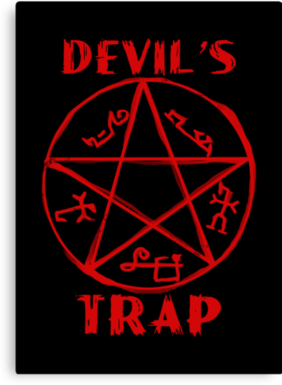 Devil's trap by KanaHyde