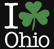 I Love (Shamrock) Ohio by saintpaddiesday