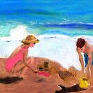Playing at Sanderling by Marriet