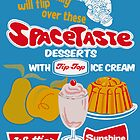 Spacetaste Poster by Darian  Zam