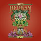 Herban ipad Man by Kathleen Dupree