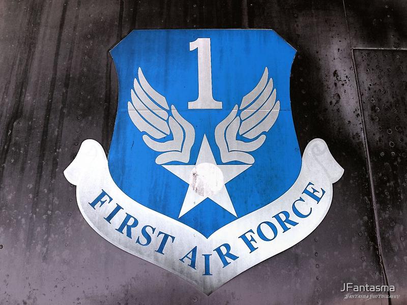 First Air Force Crest  by JFantasma