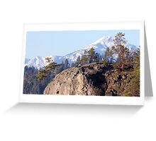 On the Bluffs Greeting Card