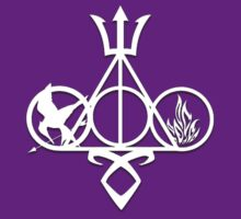 Deathly Hallows, Mockingjay, Trident, Rune, Dauntless - Fandoms by LovelyOwls
