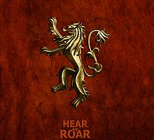 Game Of Thrones Lannister Hear Me Roar  by neutrone