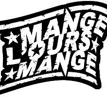 Mange l'Ours Mange - logo by bloug99