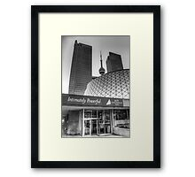 Intimately Powerful Framed Print