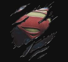 Shirt Rip- Superman by JordanMay