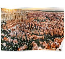 Bryce Point Sunset Poster