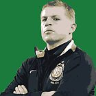 Neil Lennon by scotzine