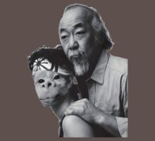 Mr. Miyagi and Falkor The Luck Dragon by YouKnowThatGuy