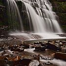 The Left Side of Liffey Falls by tinnieopener