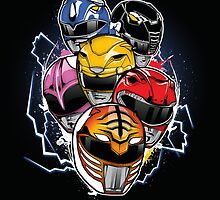 Morphin Time! by InkOne