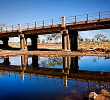 Bridge over the Murchison River  by Pene Stevens
