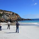 A beach walk - Innes nat Park South Australia by Kay Cunningham
