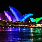 Sydney Opera House at night by Michael Clarke