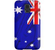 Waving Australian Flag iPhone case Samsung Galaxy Case/Skin