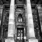 Main entrance Parliament House Adelaide. by Nick Egglington