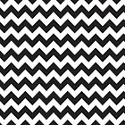 Black & White Chevron by electricave