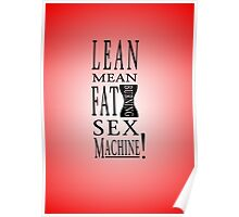 Lean Mean Fat Burning Sex Machine! Poster