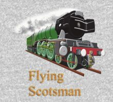 The Flying Scotsman with Blinkers T-shirt by Dennis Melling