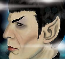 Everyone's Favorite Vulcan- Spock by Alex Mathews