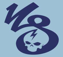 KrakkdSkullz - KS Logo - Navy Kids Clothes
