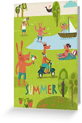 Summertime  by menulis