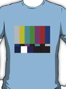 Sheldon Cooper's Test Pattern T-Shirt