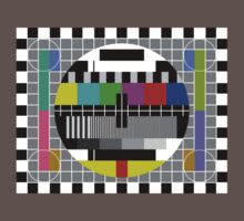 Sheldon Cooper's Test Pattern * Kids Clothes