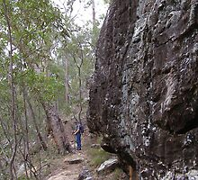 Following the Path! Cania Gorge, South East Queensland. by Rita Blom