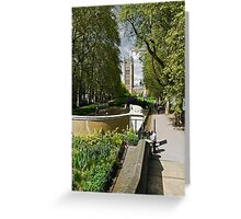 Victoria Tower Greeting Card