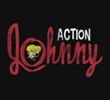 Action Johnny Logo by Creative Outpouring