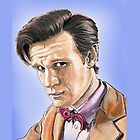 Doctor who birthday card by Kim West