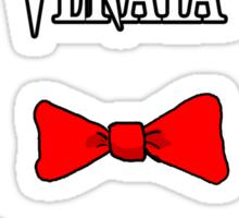 Definitely an N word Sticker