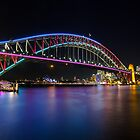 Vivid Sydney 2013 - Harbour Bridge by Andi Surjanto