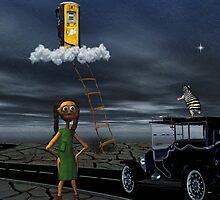 Sky High... by Karen  Helgesen