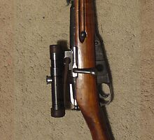 Mosin Nagant by andytechie