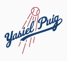 Yasiel Puig L.A. Dodgers Shirt! by endlessimages