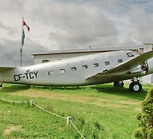 Retired Plane by AnnDixon