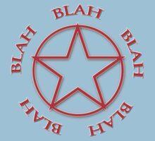 Blah, Blah, Blah - Rush Tribute Tee Kids Clothes