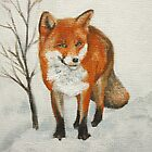 Winter Fox by Lynne  Kirby