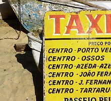 Water taxi, Buzios, Brazil by fionapine