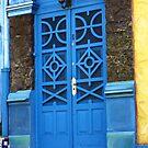 Blue door, Santa Teresa, Rio by fionapine