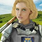 Jeanne D'Arc  by Rowan  Lewgalon